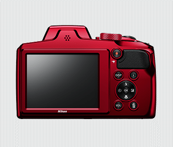Nikon Coolpix B600 red